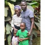 Nsanze Jimmy family pic